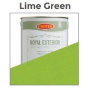 Royal - Lime Green