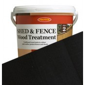 Shed & Fence Black