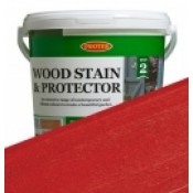 Wood Protector - Fire Engine Red