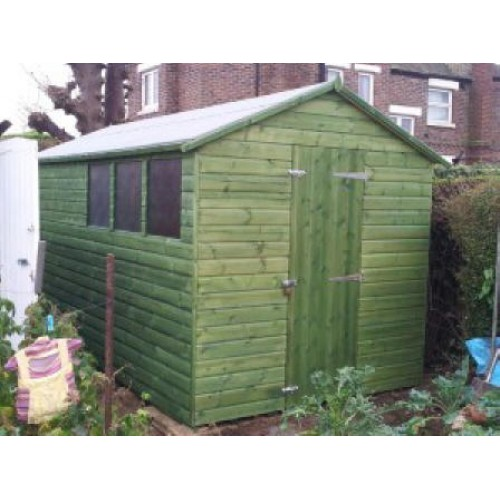 Shed Amp Fence Light Green